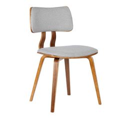 Armen Living Contemporary Side Chair at Lowe's. The Armen Living Jaguar Side Chair is an epitome of a piece-of-art. Its play on clean lines and designs make this chair very appealing to a household that