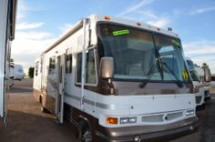 Browse for our used RV for sale in Arizona, we offer used travel trailers, fifth wheels, toy haulers and RV trailers for sale by Fleetwood, Gulf Stream and Used Rv For Sale, Travel Trailers For Sale, Toy Hauler, Damon, Motorhome, Arizona, Adventure, Vehicles, Trailer Homes For Sale