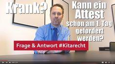 KItarecht Folge 172: Können Kita-Träger von Erziehern eine Krankschreibu...