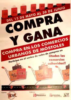 Compra y Gana, campaña dinamizacion comercial en mostoles Movies, Movie Posters, Point Of Sale, Cattle, Prize Draw, Activities, Films, Film Poster, Cinema