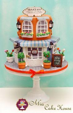 Edible Art. Cute Bakery Cake