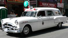 This 1954 Packard is a vintage Toronto ambulance