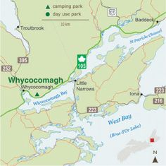 Whycocomagh Nova Scotia, East Coast, Canada, Camping, Park, Campsite, Parks, Campers, Rv Camping