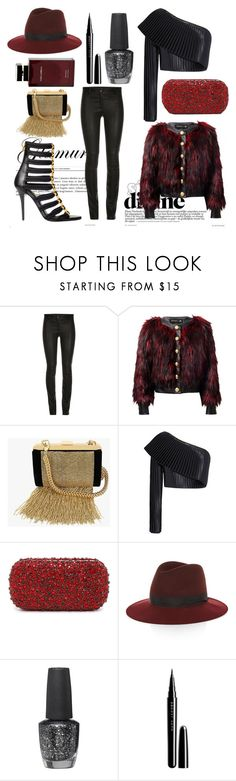 """""""Join Balmain Army"""" by katherene ❤ liked on Polyvore featuring Balmain, Alice + Olivia, rag & bone, OPI, Marc Jacobs and Dolce & Gabbana Fragrance"""