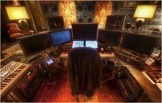 Command Centre In Hans Zimmer's Amazing Studio