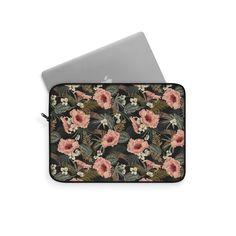 Classic Floral Laptop Sleeve – WavyBazaar