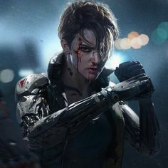 ArtStation - Streets of Rage, by shuo SHI Cyberpunk 2077, Character Inspiration, Character Art, Character Design, Science Fiction, Shadowrun Rpg, Steampunk, Ex Machina, Sci Fi Characters