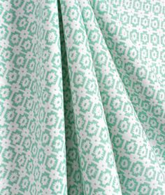 Braemore Paloma/OXF Turquoise Fabric. This fabric is sold at Material Things.