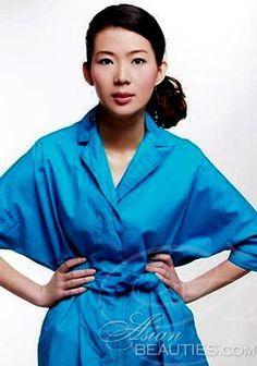 Data a mulher de seus sonhos: mulher asiática Chi (Cindy) de Beijing