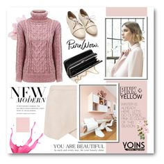 """""""yoins"""" by megx12 ❤ liked on Polyvore featuring Nuevo, BCBGMAXAZRIA, women's clothing, women's fashion, women, female, woman, misses, juniors and yoins"""