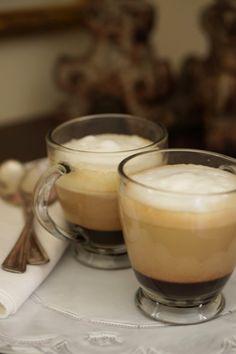 Chocolate Bicerin Espresso Drink // Made with Torani