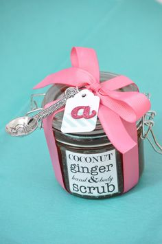 homemade DIY sugar scrubs {from little birdie secrets}