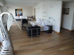 Piso de madera de roble acabado con Bona Naturale. www.floortek.com.ar