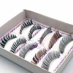 5 Pairs Mixed style False Eyelashes Natural Soft Makeup Maquiagem Fake Eye Lashes Extension Beauty Make Up Tools Lashes #BC-06