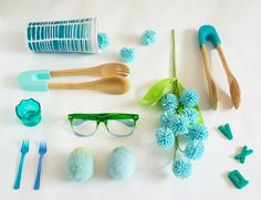 some of my favorite blue finds under five dollars at Target right now | photo by Oh Joy | Life in Color