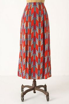 Arrow Feather Skirt £268.00