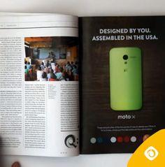 Empresa cria anúncio interativo impresso. #criatividade #tecnologia