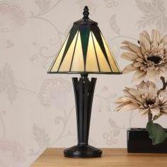 DARK STAR SMALL TIFFANY STYLE TABLE LAMP