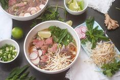 Soupe pho Ramen, Food And Drink, Asian, Dishes, Cooking, Ethnic Recipes, Desserts, Table, Inspiration
