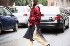 Street Style: Milan Fashion Week Fall 2016