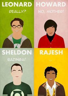 Frases típicas de los personajes de 'Big Bang Theory' - vía Nomiya Maki
