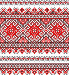 Cross stitch pattern Art Print by TheArtDeal - X-Small Cross Stitch Borders, Cross Stitch Charts, Cross Stitch Designs, Cross Stitching, Cross Stitch Patterns, Folk Embroidery, Cross Stitch Embroidery, Embroidery Patterns, Loom Bands