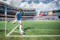 Andrea Pirlo como jugador del New York City