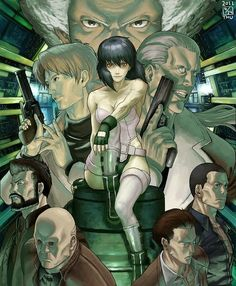 Safebooru is a anime and manga picture search engine, images are being updated hourly. Manga Anime, Manga Art, Anime Ghost, Character Art, Character Design, Masamune Shirow, Motoko Kusanagi, Manga Characters, Fictional Characters