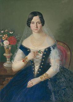 Portrait of Josephine Thuranska, née Babičová Hungarian Women, Female Portrait, Victorian Era, Costumes For Women, Fashion Portraits, Saree, Culture, Clothes For Women, How To Wear