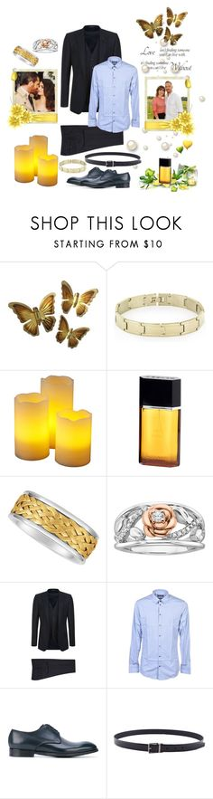"""Nameless #23"" by boondock-saint1999 ❤ liked on Polyvore featuring West Coast Jewelry, Azzaro, Kobelli, Disney, Dolce&Gabbana, men's fashion and menswear"