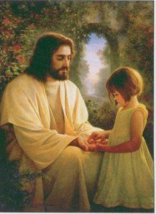 jesus hugging a child image search