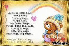 Good Night Hug, Good Morning Hug, Cute Good Morning Quotes, Good Night Wishes, Good Night Sweet Dreams, Good Night Image, Good Night Quotes, Night Night, Hugs And Kisses Quotes