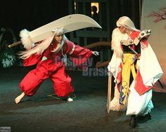 InuYasha and Sesshoumaru from InuYasha.