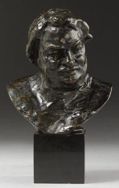 **BALZAC Auguste Rodin, Modern Sculpture, Portraits, Bronze, Author, Concept, Statue, Drawings, Art