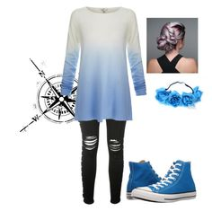 """""""Blue"""" by lucyheartyui on Polyvore featuring moda, AMIRI, Joie, Converse, outfit i sporty"""