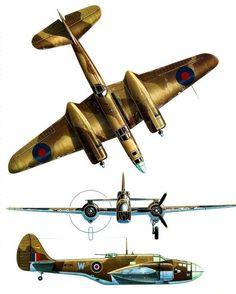 Martin Maryland i Baltimore Ww2 Aircraft, Military Aircraft, Aircraft Painting, Flying Boat, Aircraft Design, Royal Air Force, Aviation Art, Model Airplanes, World War Two