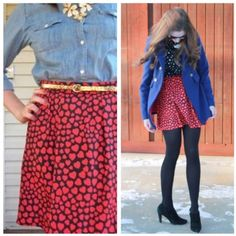 J. Crew Heart Throb Skirt REPOSH. In like new condition. Stunning black and red heart skirt. Perfect for any occasion. Measurements can be added upon request. More pics coming soon. Bought at $40. J. Crew Skirts Mini