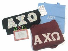 Alpha Chi Omega Sorority Clothing   Get it before it's gone!
