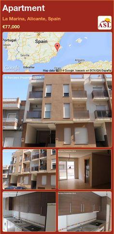 Apartment in La Marina, Alicante, Spain ►€77,000 #PropertyForSaleInSpain