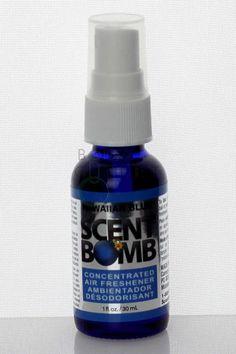 SCENT BOMB 1 oz / 30 ml - Hawaiian Blue Blue Hawaiian, Air Freshener, 1 Oz, 30th, Smoking, Container, Environment, Tobacco Smoking, Cigars