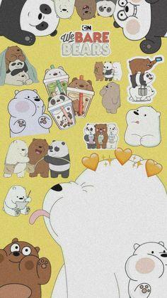 Cute Panda Wallpaper, Bear Wallpaper, Cute Patterns Wallpaper, Cute Disney Wallpaper, We Bare Bears Wallpapers, Panda Wallpapers, Cute Cartoon Wallpapers, Ice Bear We Bare Bears, Cartoon Wallpaper Iphone