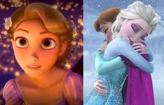 Frozen had the better score, Tangled had the better story. Ok?