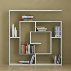 Labirent Book Shelves White, 228€, now featured on Fab.