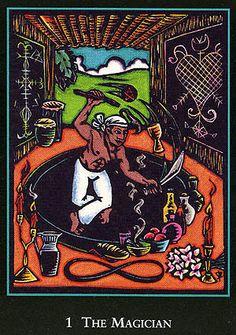 The Magician - World Spirit Tarot