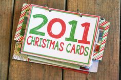 Oh Louise!: DIY Christmas Card Books