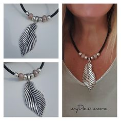 Feather Jewelry, Fall Jewelry, Feather Necklaces, Boho Jewelry, Jewelry Crafts, Beaded Jewelry, Jewelry Necklaces, Beaded Necklace, Fashion Jewelry