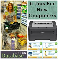 6 Tips For New Couponers. May you do well and save your family a lot! Use these tips to get started.
