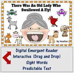 Here is a FREE digital emergent interactive reader!