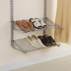 Rubbermaid - Étagères à chaussures - FG3H9400TITNM - Home Depot Canada
