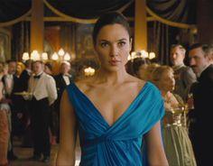wonder woman blue gown